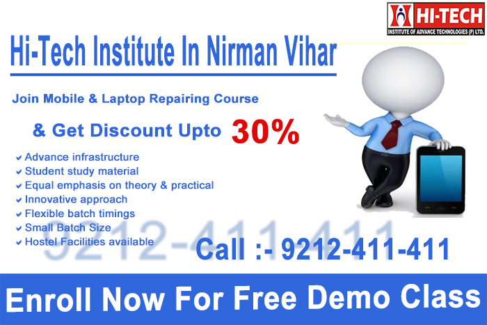mobile repairing course-nirman-vihar